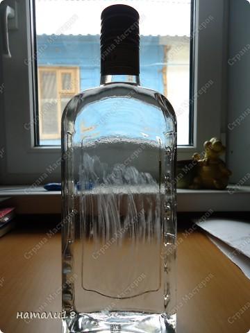 Просмотрела много информации про обратный декупаж на бутылках,но мастер-класса не нашла. фото 2
