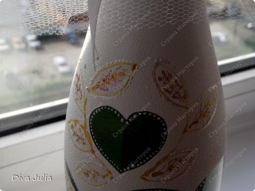 Бокалы пробные, с клеем не сложилось, видны следы (оставила их у себя, а бутылка была подарена на день рождение) фото 10