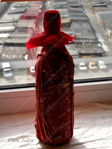 Бутылочка с тканью №2 фото 2