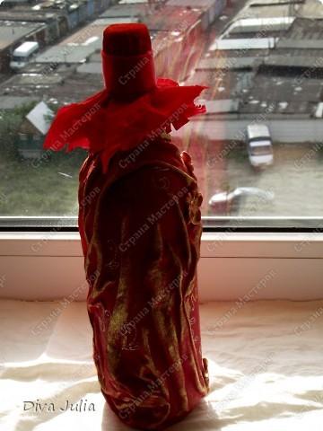 Бутылочка с тканью №2 фото 4