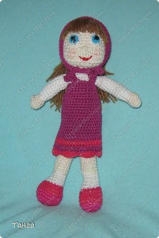 Это самая первая и самая любимая дочкой Машенька. Росточком 17 см, как раз для маленьких ручек. фото 3