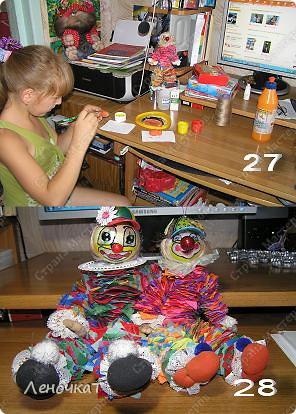 Совместно  с  моей доченькой Олесей мы  создали  этот МК.А  вдруг  кому-нибудь да  пригодится.Тем  более  Клёпа  очень  весёлый  парень!   фото 9