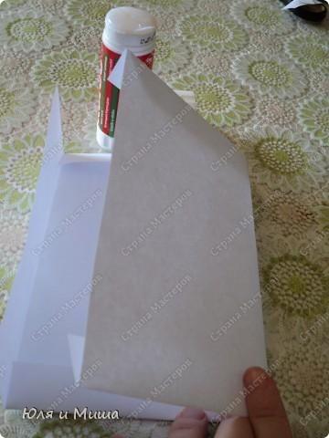 У нас на почте предлагают только большие конверты и вот я взялась за изделие своего. Сначала хотела сделать по готовому шаблону с инета, но ни один без проблем не оказался. Чаще всего встречались или очень замысловатые, или маленькие - подарочные, для денег. А при изменении размера на компе - деформировались стороны. Потому в конце концов села и сделала то, что сделала. Вдруг кому то пригодится именно мой вариант. фото 7
