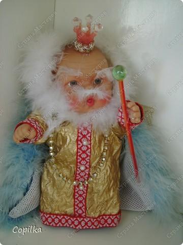 """Мы с подругой к прошлому учебному году делали кукольный театр. Сказка """" Красная шапочка"""" ( ну и что,что на будённовца похожа,зато ОНА делала , а я - только осуществляла общее руководство!) фото 9"""