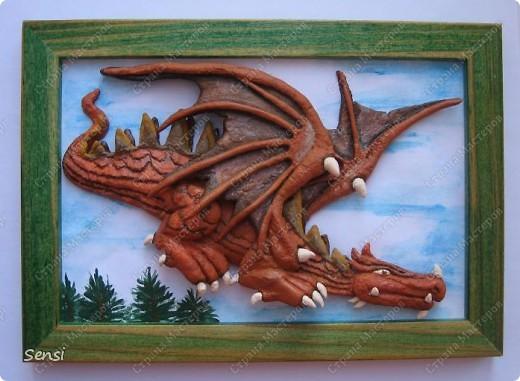 """Картина """"Дракон"""""""