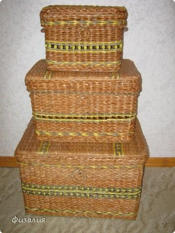 Наконец-то, осуществила давнюю задумку :). Теперь мои материалы будут хранится в этих плетенках. фото 8