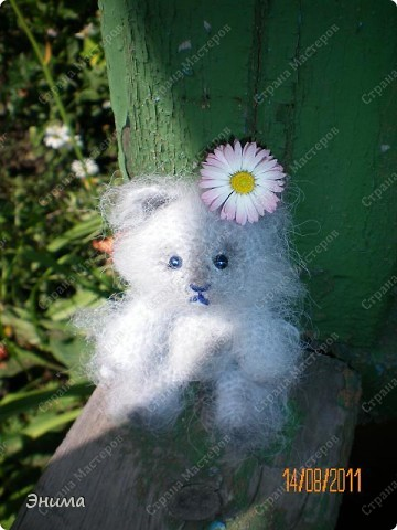 Очередноя поездка на дачу - и снова вязанная игрушка. Котик по имени Цезарь (потому, что похож на одного знакомого Цезаря:))) фото 8