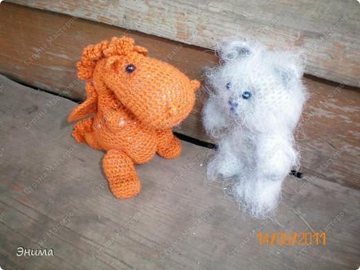 Очередноя поездка на дачу - и снова вязанная игрушка. Котик по имени Цезарь (потому, что похож на одного знакомого Цезаря:))) фото 9