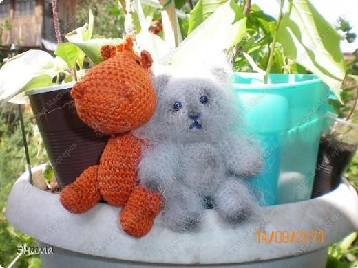 Очередноя поездка на дачу - и снова вязанная игрушка. Котик по имени Цезарь (потому, что похож на одного знакомого Цезаря:))) фото 10