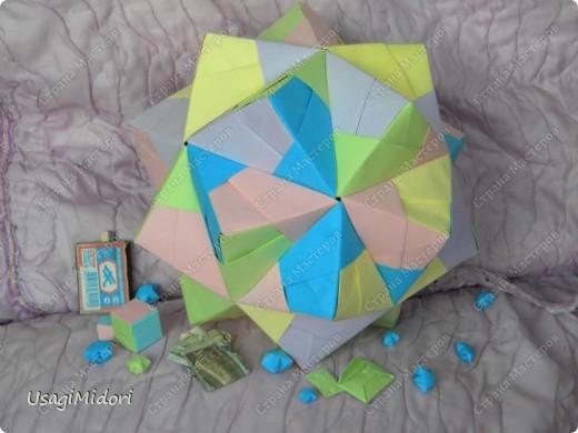 Здравствуйте, хочу показать вам мои работы и ссылки на МК, по которым я их делала. К сожалению, слишком долго было их искать на этом сайте.   Итак, описываю,изображённые на фото, предметы слева-направо.  На этом фото: Модульный кубик ( http://stranamasterov.ru/node/53243?tid=451%2C850 ) Журавлики ( http://www.loveorigami.info/origami.php?model=147 ) Модульный кубик ( http://stranamasterov.ru/node/227280 ) Модульный кубик ( http://stranamasterov.ru/node/216050?tid=451%2C850 )    и     ( http://stranamasterov.ru/node/208803?tid=451%2C560 ) Модульная роза-куб ( http://stranamasterov.ru/node/131766?tid=451%2C560 )  фото 7