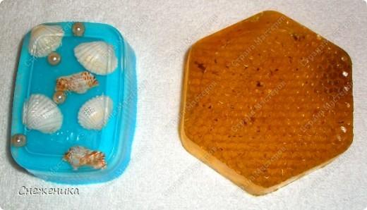 Снова мыло - медовое и морское фото 3
