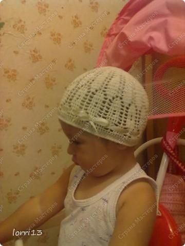 летняя шапочка фото 2