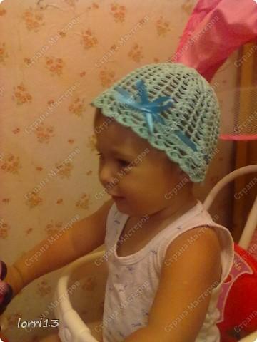 летняя шапочка фото 3