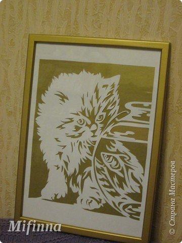 Картинку нашла на сайте вышивки http://www.xrest.ru/. Вот что в итоге получилось. фото 1