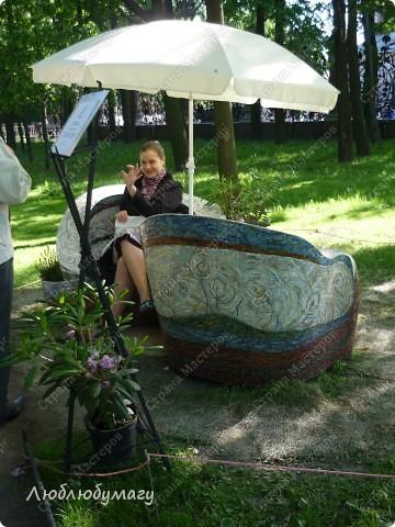 В Санкт- Петербурге в Михайловском саду ежегодно проводится фестиваль ландшафтного искусства. Хочу вам, дорогие мастерицы, показать, что мы там увидели в этом году. фото 10