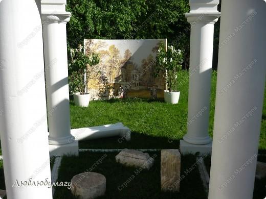 В Санкт- Петербурге в Михайловском саду ежегодно проводится фестиваль ландшафтного искусства. Хочу вам, дорогие мастерицы, показать, что мы там увидели в этом году. фото 13