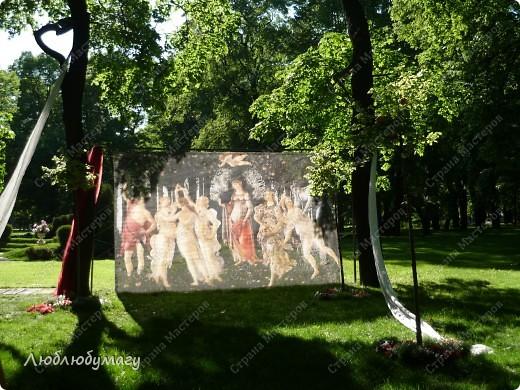 В Санкт- Петербурге в Михайловском саду ежегодно проводится фестиваль ландшафтного искусства. Хочу вам, дорогие мастерицы, показать, что мы там увидели в этом году. фото 15