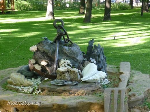 В Санкт- Петербурге в Михайловском саду ежегодно проводится фестиваль ландшафтного искусства. Хочу вам, дорогие мастерицы, показать, что мы там увидели в этом году. фото 17