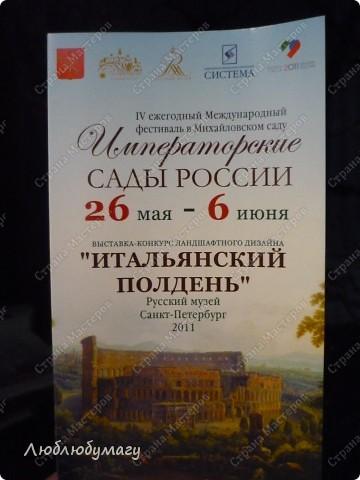 В Санкт- Петербурге в Михайловском саду ежегодно проводится фестиваль ландшафтного искусства. Хочу вам, дорогие мастерицы, показать, что мы там увидели в этом году. фото 4