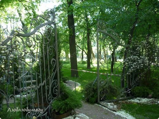 В Санкт- Петербурге в Михайловском саду ежегодно проводится фестиваль ландшафтного искусства. Хочу вам, дорогие мастерицы, показать, что мы там увидели в этом году. фото 20
