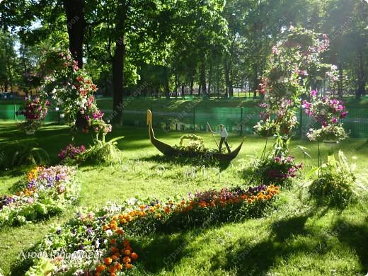 В Санкт- Петербурге в Михайловском саду ежегодно проводится фестиваль ландшафтного искусства. Хочу вам, дорогие мастерицы, показать, что мы там увидели в этом году. фото 21