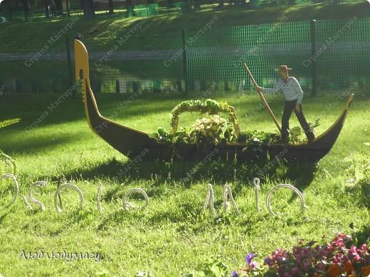 В Санкт- Петербурге в Михайловском саду ежегодно проводится фестиваль ландшафтного искусства. Хочу вам, дорогие мастерицы, показать, что мы там увидели в этом году. фото 22