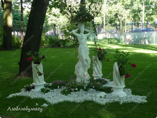 В Санкт- Петербурге в Михайловском саду ежегодно проводится фестиваль ландшафтного искусства. Хочу вам, дорогие мастерицы, показать, что мы там увидели в этом году. фото 23