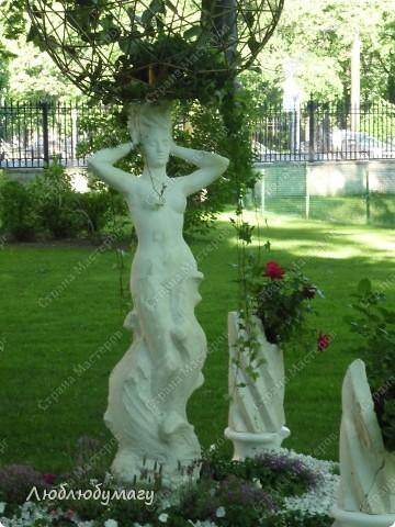 В Санкт- Петербурге в Михайловском саду ежегодно проводится фестиваль ландшафтного искусства. Хочу вам, дорогие мастерицы, показать, что мы там увидели в этом году. фото 24