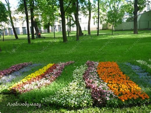 В Санкт- Петербурге в Михайловском саду ежегодно проводится фестиваль ландшафтного искусства. Хочу вам, дорогие мастерицы, показать, что мы там увидели в этом году. фото 27