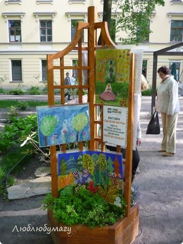 В Санкт- Петербурге в Михайловском саду ежегодно проводится фестиваль ландшафтного искусства. Хочу вам, дорогие мастерицы, показать, что мы там увидели в этом году. фото 38