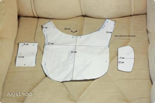 Представляю вашему вниманию осенний плащик-дождевик для собачки!  Моя модель пока что кролик-)) Но размеры все реальные!  фото 5