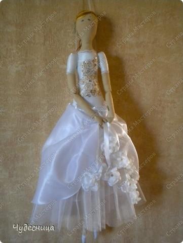 Вот такая Тильда - Балерина у меня получилась фото 1
