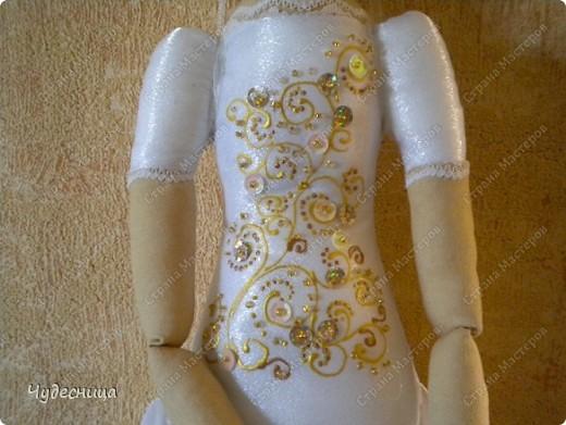 Вот такая Тильда - Балерина у меня получилась фото 6