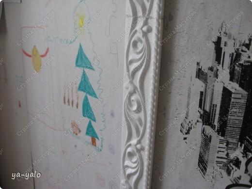 Увидела у Светы Салтыковой, а потом у АленыАлександровны открытки с полукругами. Вот - мой вариант такой открытки. Основа - бумага для акварели, синяя - индийская бумага (лицевая и обратная сторона). Розочку сделала из органзы, так же, как делаем розочку из бумажной полосы. фото 14