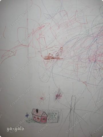 Увидела у Светы Салтыковой, а потом у АленыАлександровны открытки с полукругами. Вот - мой вариант такой открытки. Основа - бумага для акварели, синяя - индийская бумага (лицевая и обратная сторона). Розочку сделала из органзы, так же, как делаем розочку из бумажной полосы. фото 15