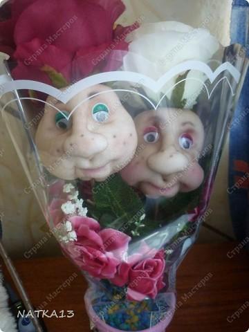 в очередной раз за вечер сделала подарок на 10-ую годовщину свадьбы(розовая свадьба) фото 1