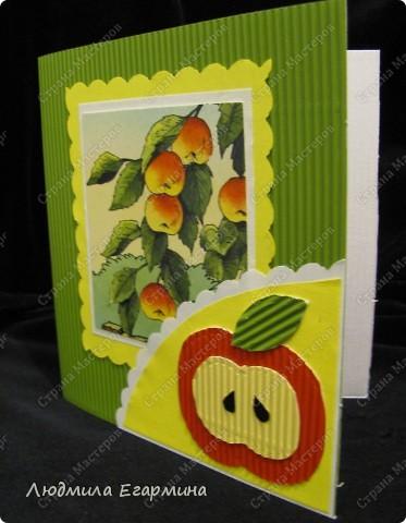 Моя 7-летняя дочка Алёнка, увидев, что я мастерю открытку для игры, тоже заявила, что сделает открытку по скетчу. фото 2