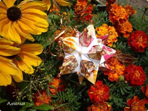 Автором всех работ является Екатерина Лукашева Схемы ко всем работам можно найти на ее сайте http://kusudama.me/ фото 7