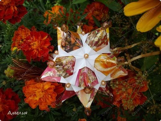 Автором всех работ является Екатерина Лукашева Схемы ко всем работам можно найти на ее сайте http://kusudama.me/ фото 9