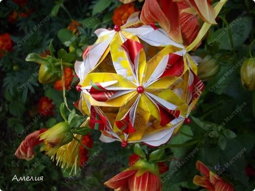 Автором всех работ является Екатерина Лукашева Схемы ко всем работам можно найти на ее сайте http://kusudama.me/ фото 18