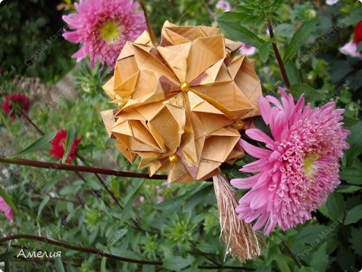 Автором всех работ является Екатерина Лукашева Схемы ко всем работам можно найти на ее сайте http://kusudama.me/ фото 26