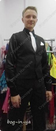 Для тех, кто хотел увидеть платья http://stranamasterov.ru/node/231748, http://stranamasterov.ru/node/232131 на моделях.  Вот так платье сидит на девочке. фото 2