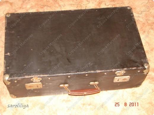 Вот такой чемодан у меня получился, а как я его оформила описываю ниже: фото 2