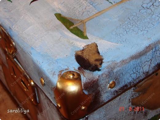 Вот такой чемодан у меня получился, а как я его оформила описываю ниже: фото 7
