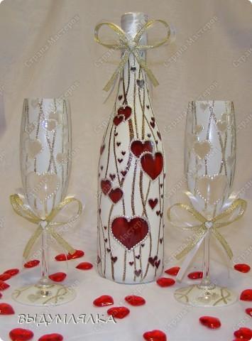 Такой вот набор получился - можно и для свадьбы,и на день Валентина,и просто на романтический ужин. фото 1