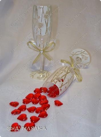 Такой вот набор получился - можно и для свадьбы,и на день Валентина,и просто на романтический ужин. фото 6