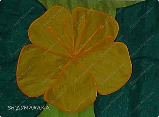"""Сделала в садик для дочки ламбрикен с цветочками ,так как группа называется """"КВІТОЧКА"""". Потолочную плитку специально сделали местами цветной - это моя, так сказать , дизайнерская идея - воспитатели поддержели. фото 3"""