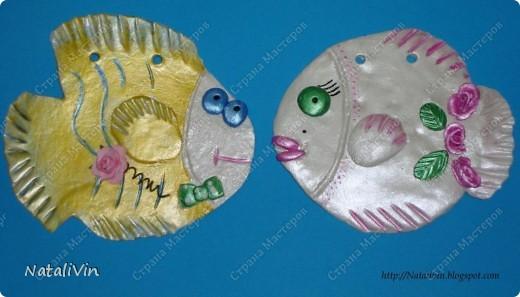 Доброе время суток дорогие жители страны и гости))))) Простенькие паношки для сестры. Заготовки из гипса, салфетки , контур, акриловые краски. Всё очень просто ...без изысков))) фото 2