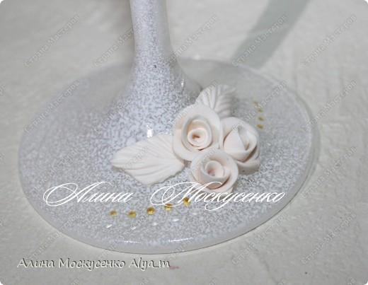 Свадебный набор ручной работы. фото 3