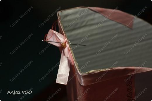 Хочу предложить вашему вниманию мини МК по декору обычных картонных папок для журналов из Икеи! фото 11